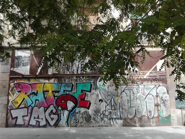 Street Art in El Born neighborhood