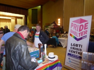 The Pride Shelter also accommodates LGBTI people in crisis