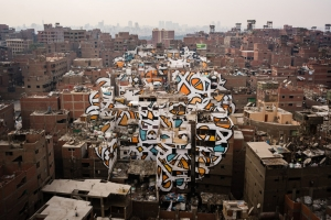 Sprawling Mural Pays Homage to Cairo's Garbage Collectors