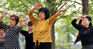Dancing at public squares to keep healthy