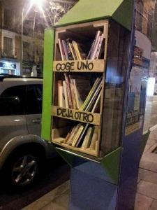 Otro uso a las cabinas telefónicas