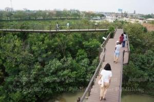 A green Bangkok