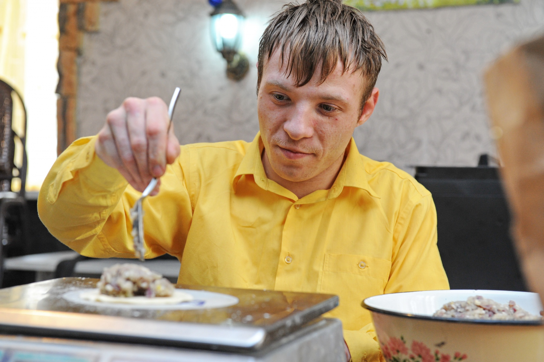 Café staffed entirely by people with disabilities