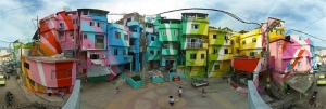 Favela Painting, favelas de colores para mejorar la autoestima
