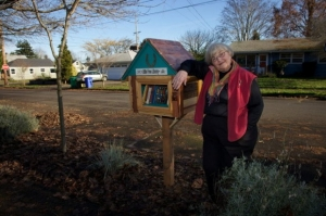Book lovers nurture neighborhood camaraderie with mini libraries