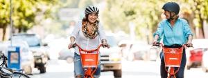 Nike sponsors bike share programme 'Bike it'