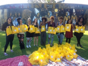 #TheHappyPeriodMovement, menstrual hygiene kits to the homeless