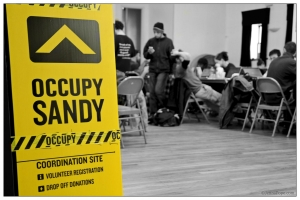 Occupy Sandy was the citizens' response to hurricane Sandy