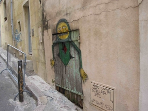 Street art for old doors