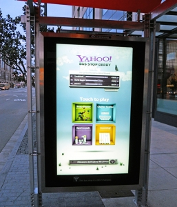'Bus stop derby' turns bus stops into social gaming hubs