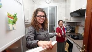 Programa de vivienda compartida entre ancianos y estudiantes