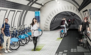 Bike paths in abandoned tube tunnels?