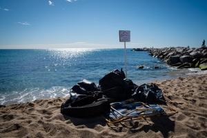 foto basura iniciativa Por El Mar