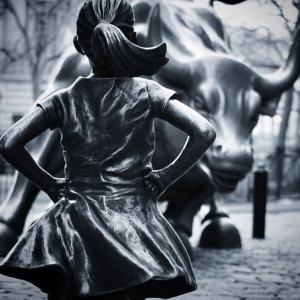Art controversy on Wall Street: Fearless Girl v Charging Bull
