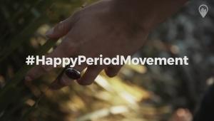 #HappyPeriodMovement, por una menstruación digna para todas las mujeres