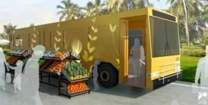 Autobuses públicos en desuso para gente sin techo