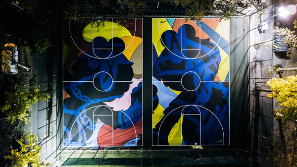 Artwork across courts to elevate sport at communities