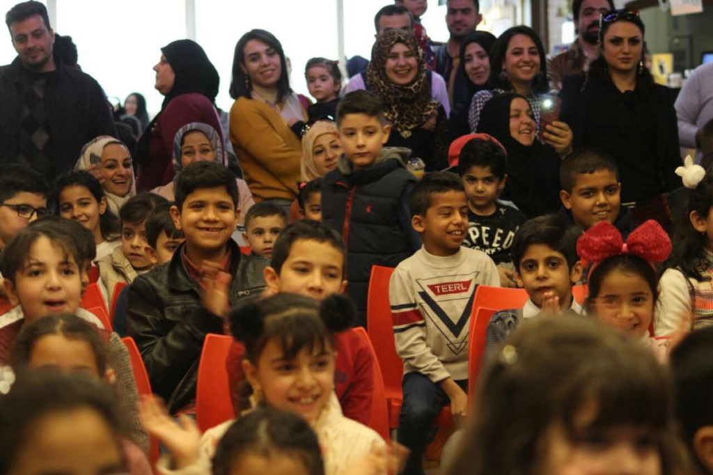 Kids reading club Baghdad