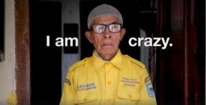 Mr Sariban, the street cleaner