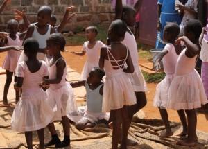 A ballet school in Nairobi