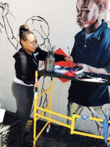 New murals by local artists for small businesses