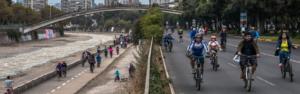 Transformando la orilla del río Mapocho