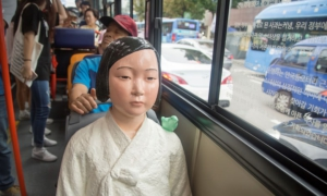 'Comfort women' statues in buses to honour former sex slaves