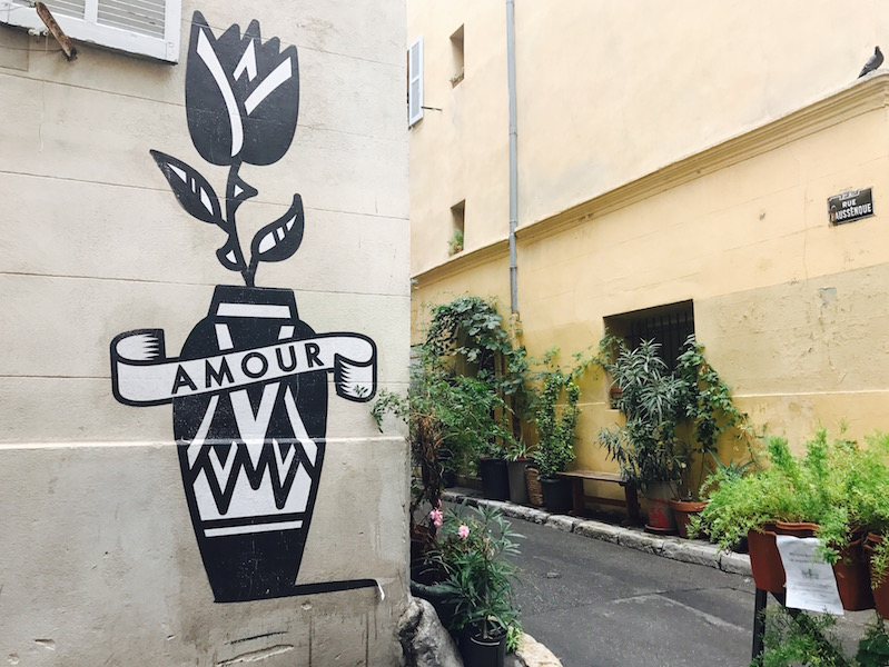 Amour_Street art Le Panier Marseille