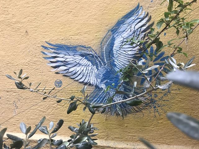 Bird_Street art Le Panier Marseille