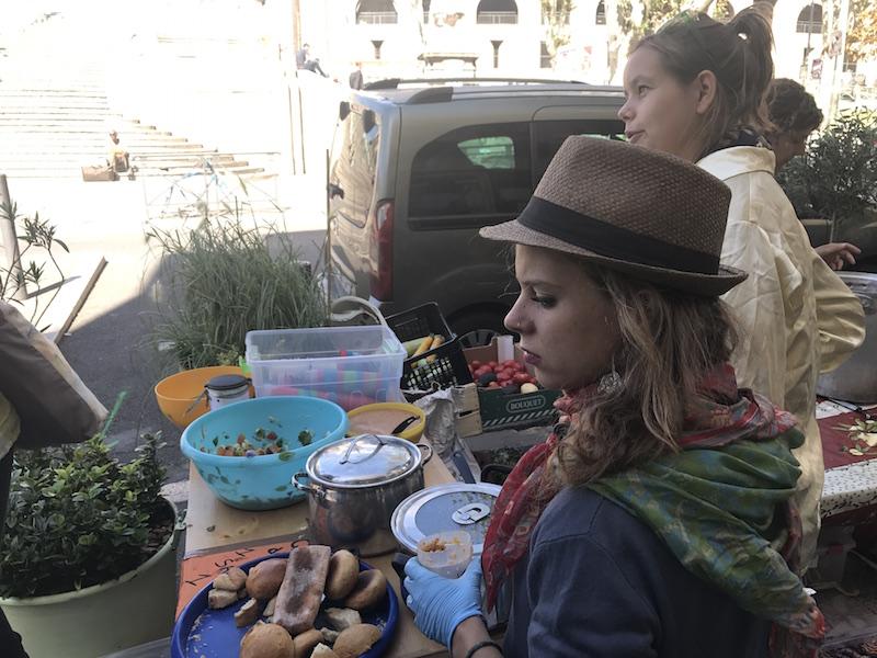 Disco Soup volunteers_Marseille
