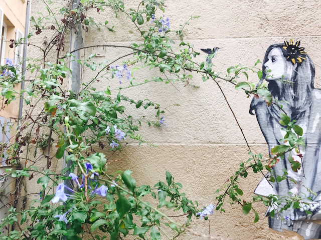 Girl_Street art Le Panier Marseille