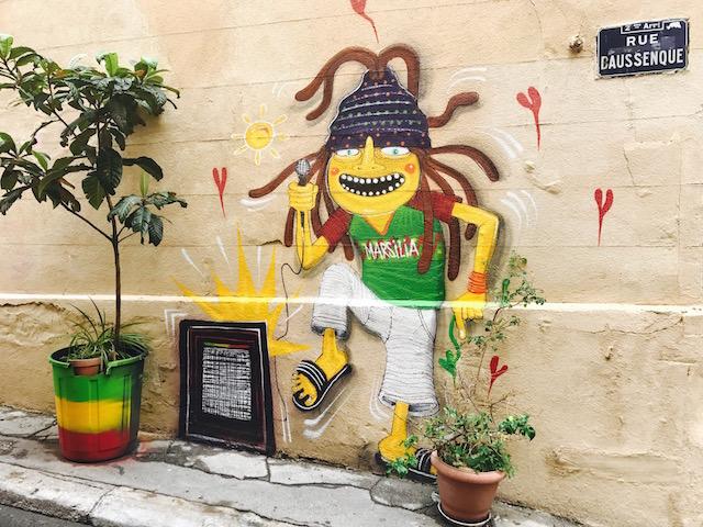 Jamaican boy_Street Art Le Panier Marseille