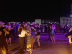 Summer Nights Tango on the street
