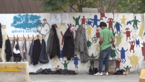 """""""Wall of Kindness"""" for Syrian refugees"""