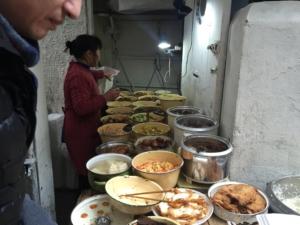 El placer de comer en la calle