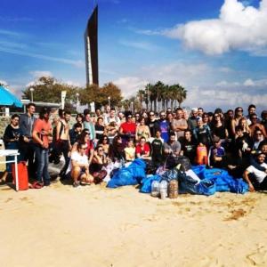 Triatlon y deporte para limpiar el mar