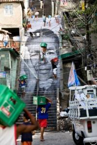 Mujeres héroes. Artivismo en las favelas.