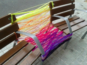 Art on urban furniture