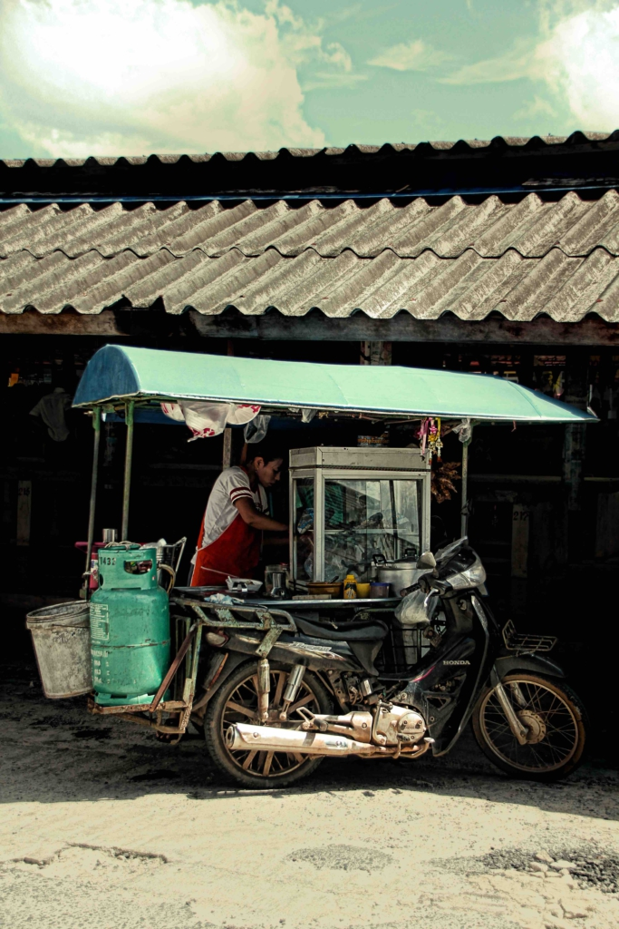 Street food scene Bangkok