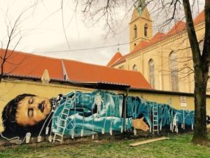 A vibrant street art scene in Zagreb replaces urban decay