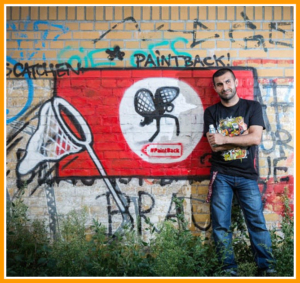 Hip Hop culture fights hate with graffiti in Berlin – #Paintback