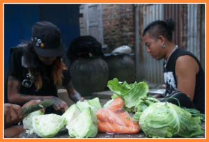 Punk and fresh cooking for a resilient city: Food Not Bombs