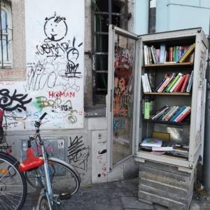 Bookcrossing at the cultural center Stadtwerkstatt