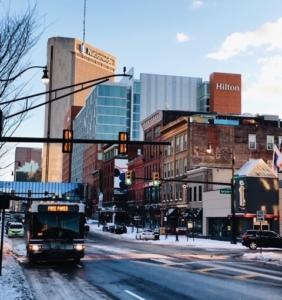 Free bus fares due to snow to encourage public transport