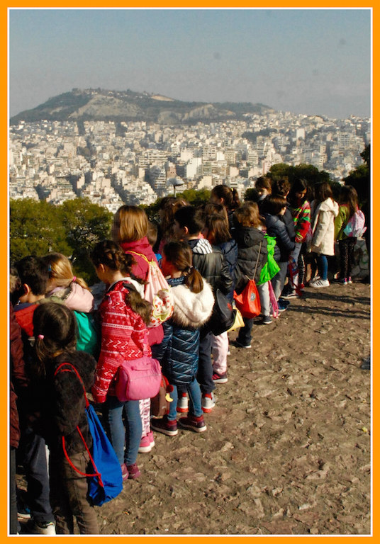 Reconnecting kids to Athens: Child-friendly walking in the city