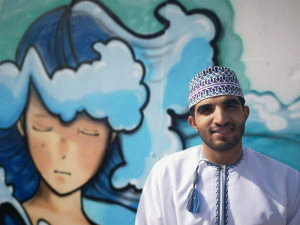 Street artists spearhead a cultural transition in Muscat