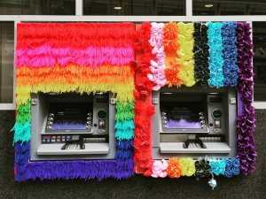 Pride ATMs in the City, London