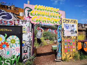 Nomadic Gardens puts meanwhile space to good use