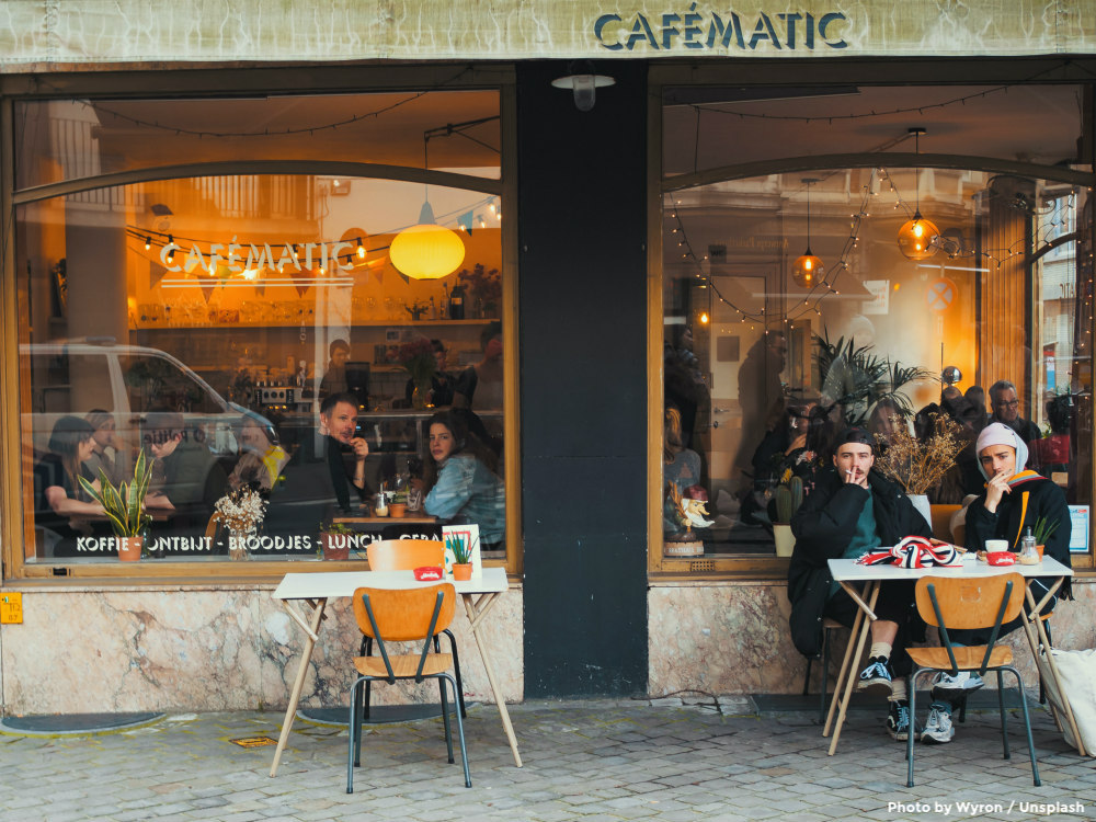 Cafes spur anonymous kindness in the city of Munich as part of daily life