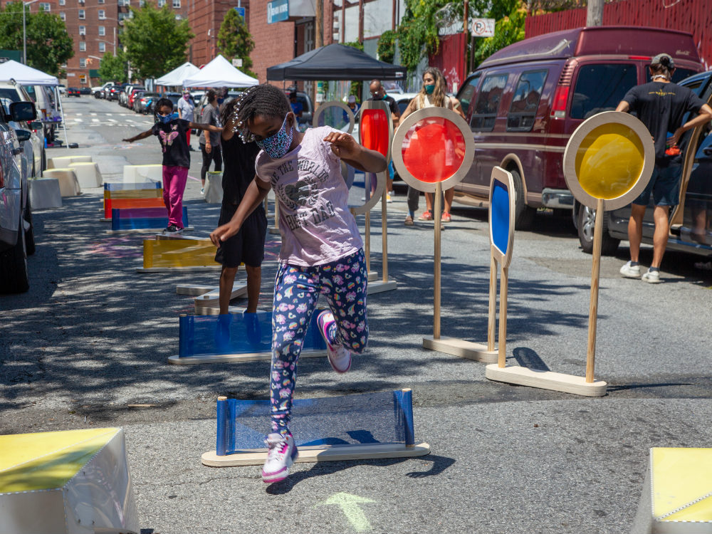 Play Streets in New York, a safe haven designed to thrive